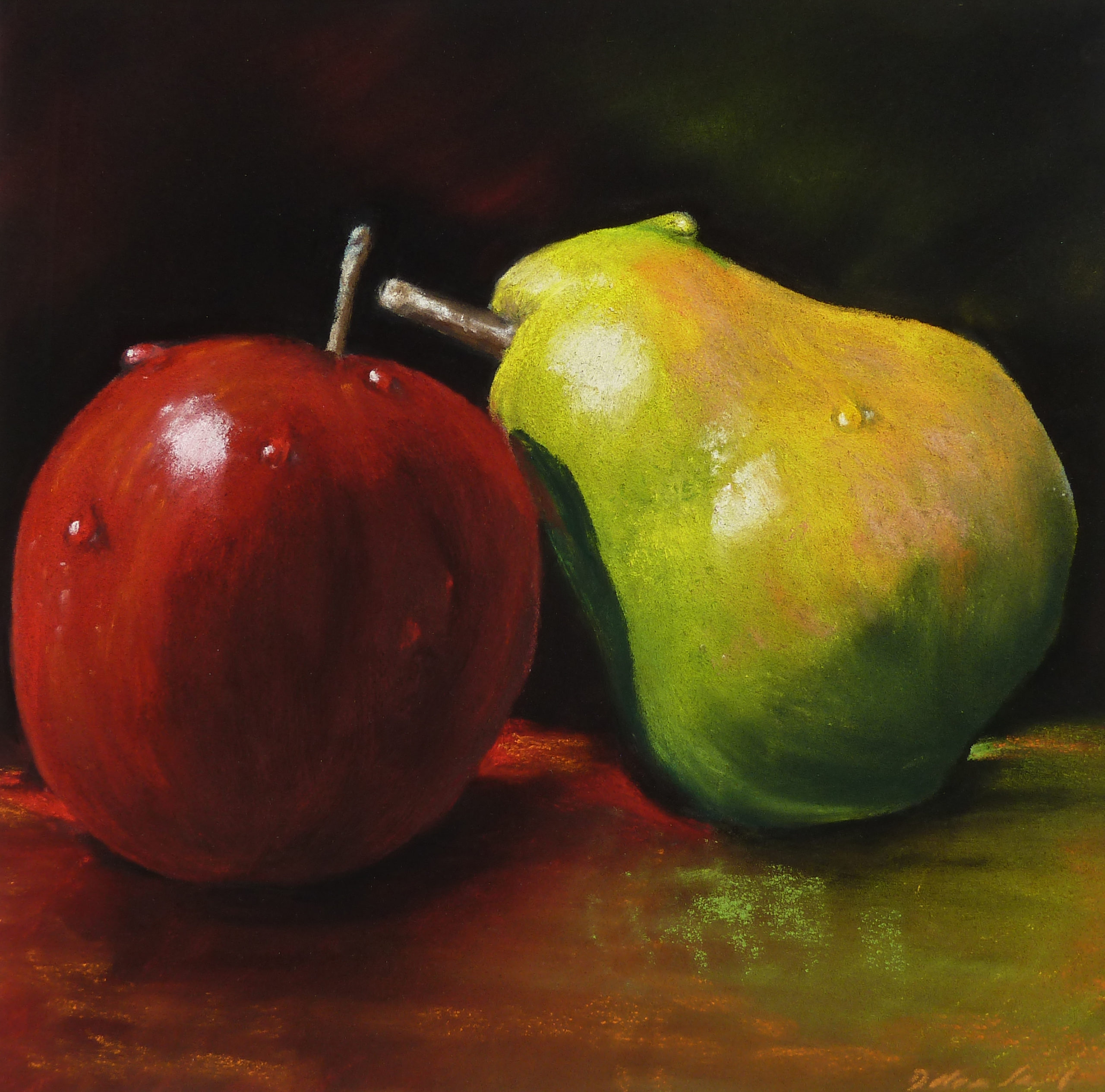 Pear loves Appel_D.Saul