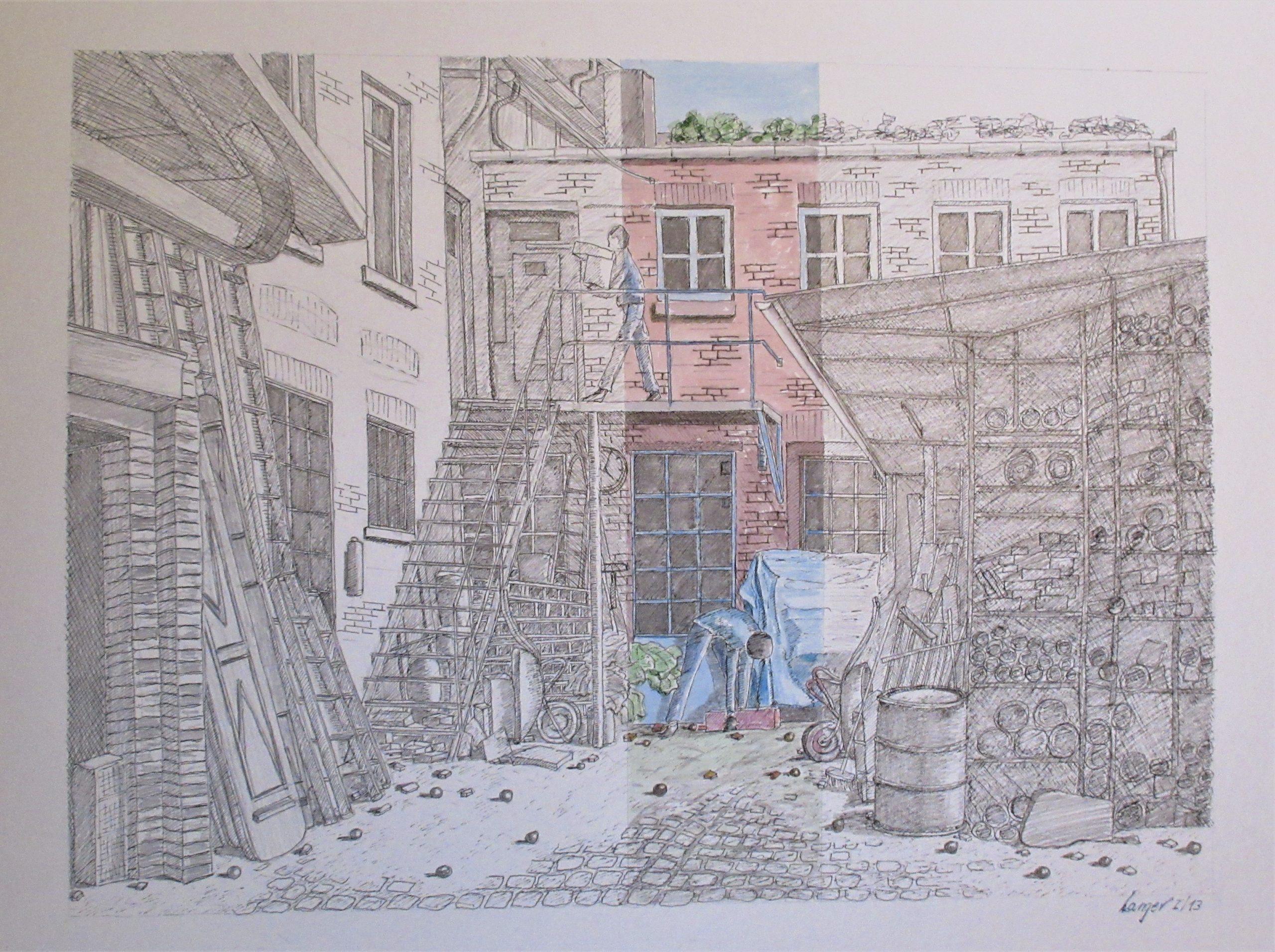 Werkstatt im Hinterhof