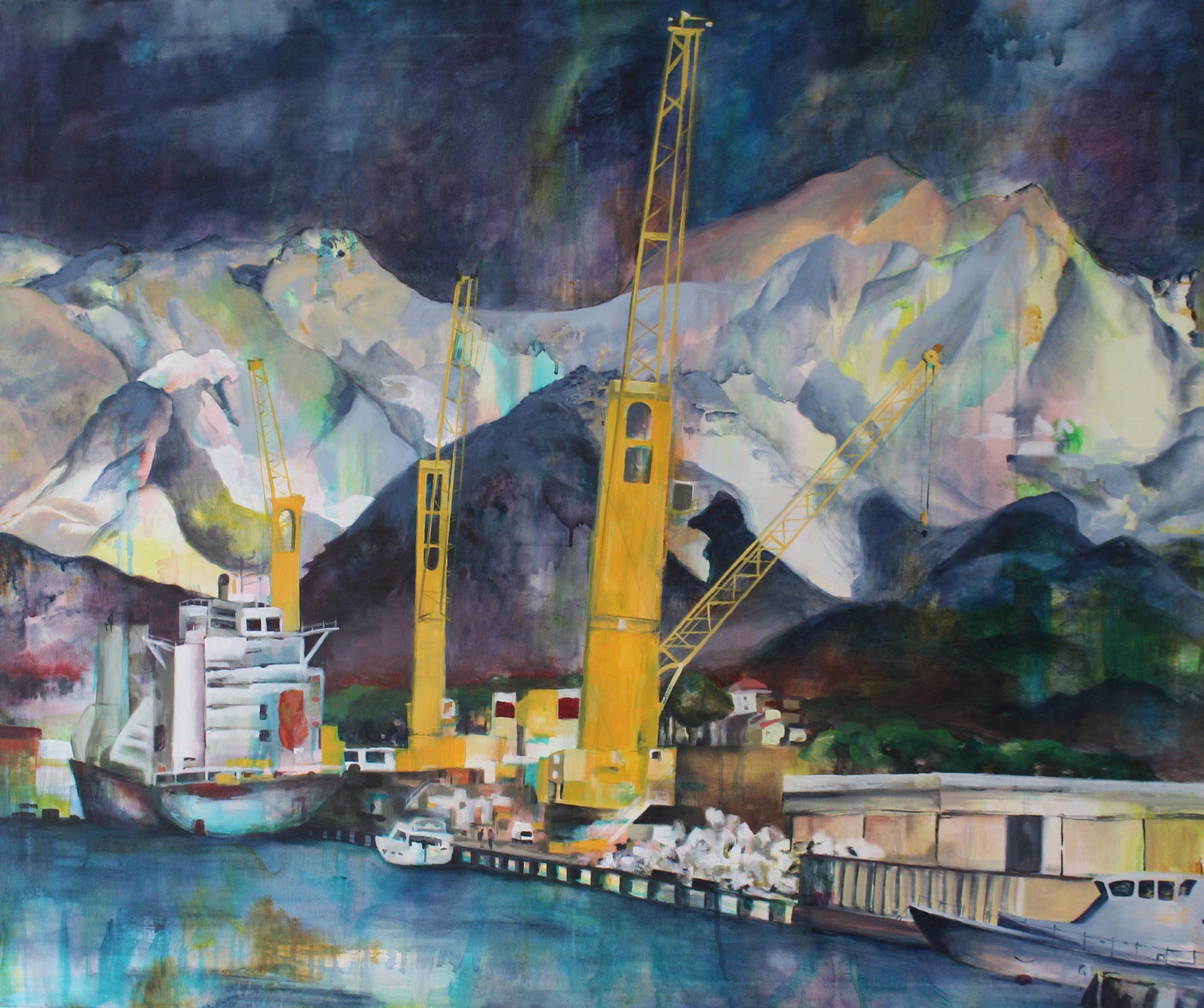 Hafen von Carrara
